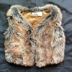 KidsRUs toddler fur vest